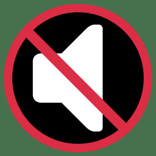 no-sound-speaker