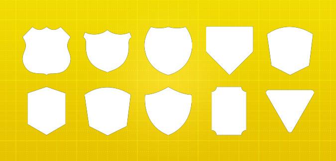 Blank Badge Templates - PAPERZIP