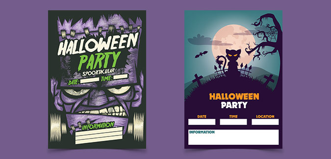 free printable halloween party flyers ecza productoseb co