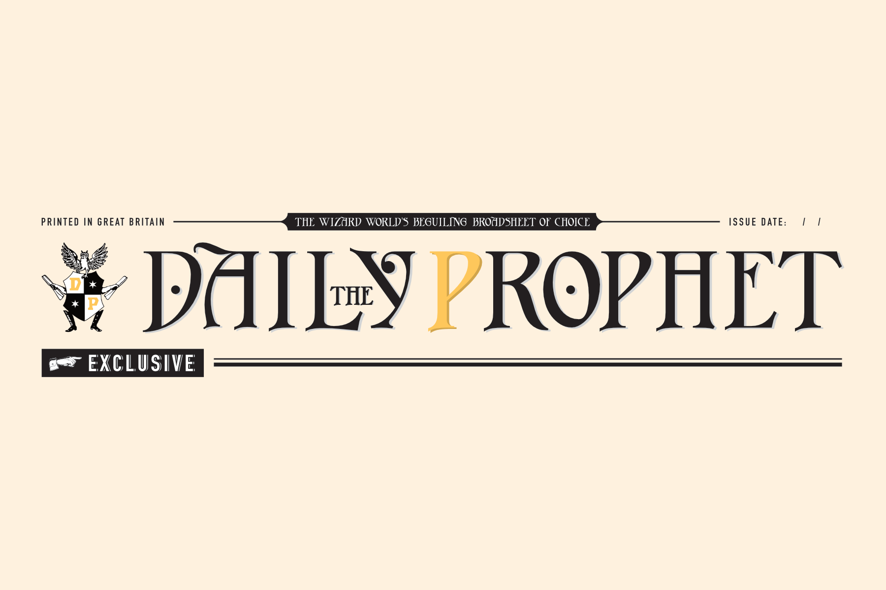 image regarding Daily Prophet Printable titled Harry Potter Newspaper Templates - PAPERZIP