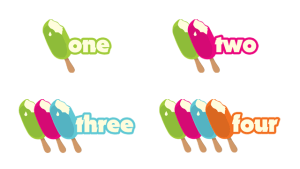 ice cream numbers free printable
