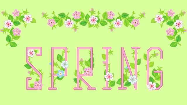spring flowers alphabet