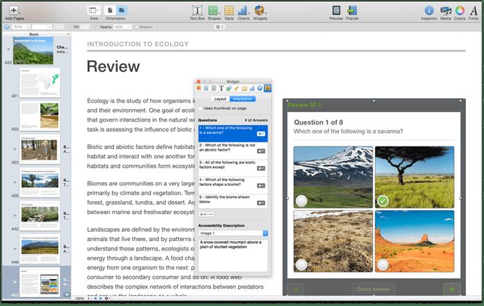 ibooks author accessibility