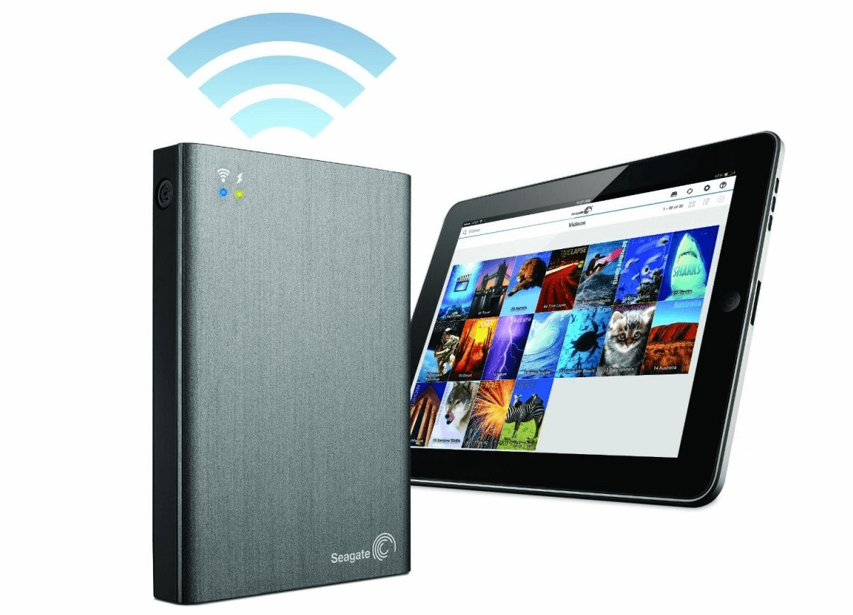 wireless hard drive for the classroom