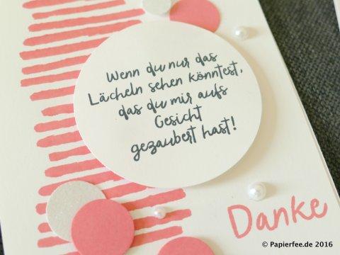 "Stampin'Up!, Danke, InColors 2106-2018, Stempelset ""Zum Dank"""