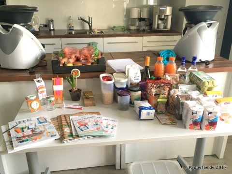 Kulinarischer Workshop mit dem Thermomix und Stampin'Up!