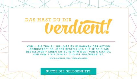 Stampin'Up! Aktion Bonustage, Demonstratorin in Frankfurt, Friedrichsdorf, Bad Homburg, Rosbach, Oberursel und Umgebung