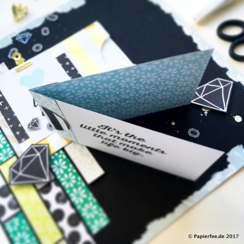 Stampin'Up! Papierfee, BlogHop Memories and More, Erinnerungen und Mehr, Kartenset Perfekter Tag, Layout, Scrapbooking