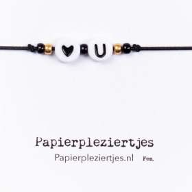 Love you - J