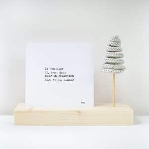 Plankplezier Kerst Punnikboom