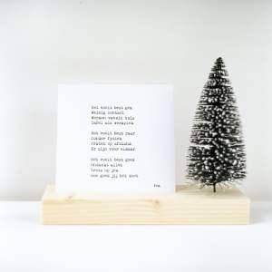 Plankplezier Kerstboom