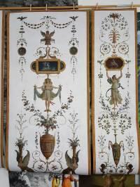 Grotesque panel - XVIIIth century - Wallpaper #4 - Papiers ...