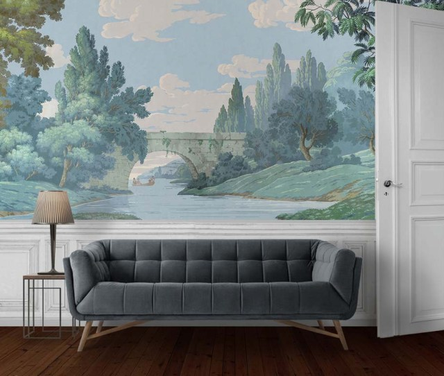French Landscape Wallpaper Mural