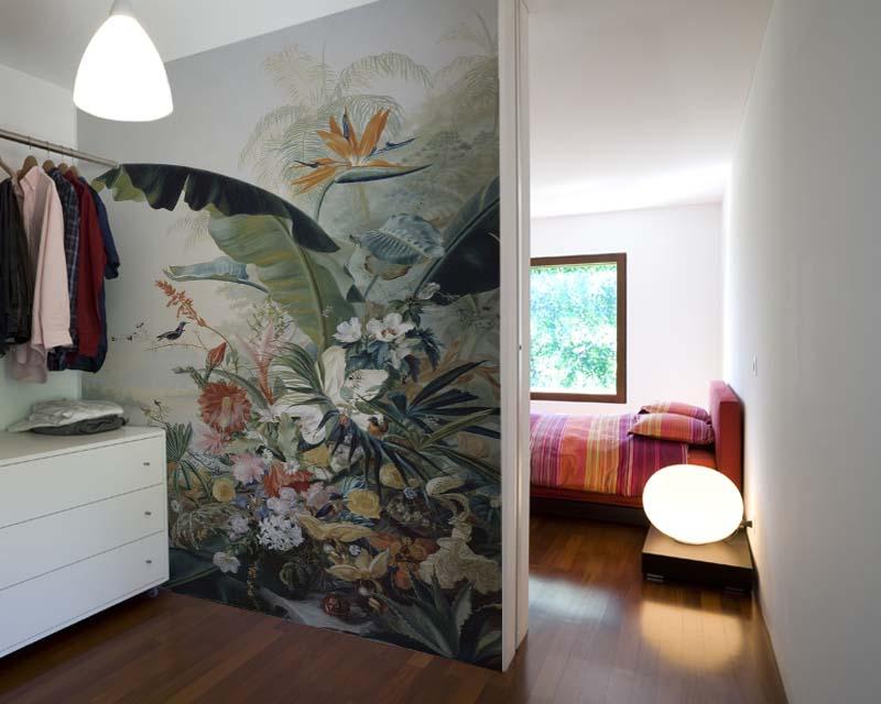 Papier Peint Panoramique Fleur Exotique Benner Fries