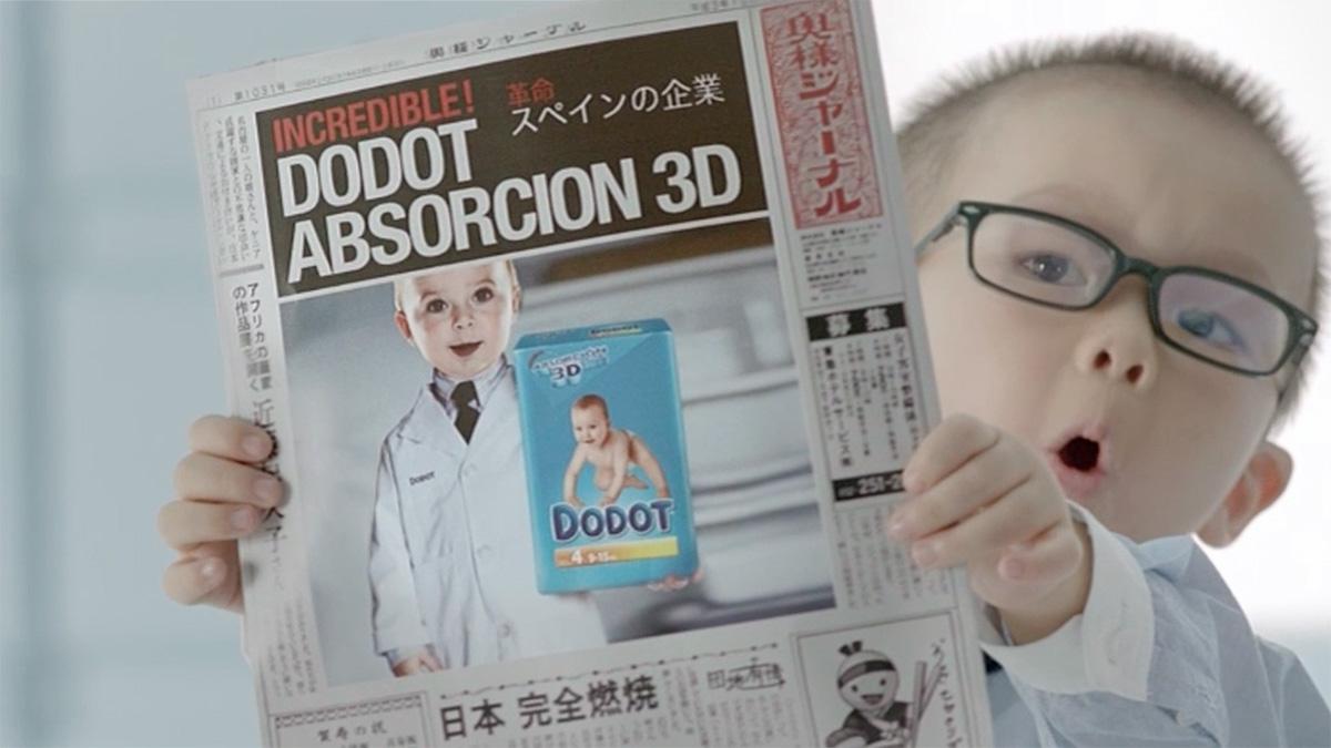 "DODOT ABSORCION 3D ""Tokio"""