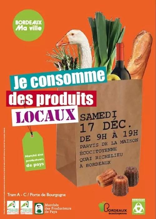 March des Producteurs de Pays de Bordeaux  17 dcembre 2011