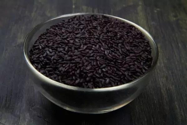 Riz venere le riz noir