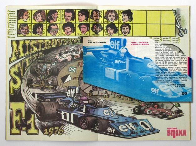 Tyrrell P34 - Pionýrská stezka