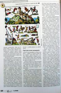 Polygrafie revue - historie vystřihovánek