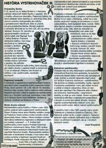Fifík - História vystrihovačiek