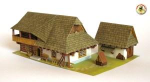 Oravské stavení