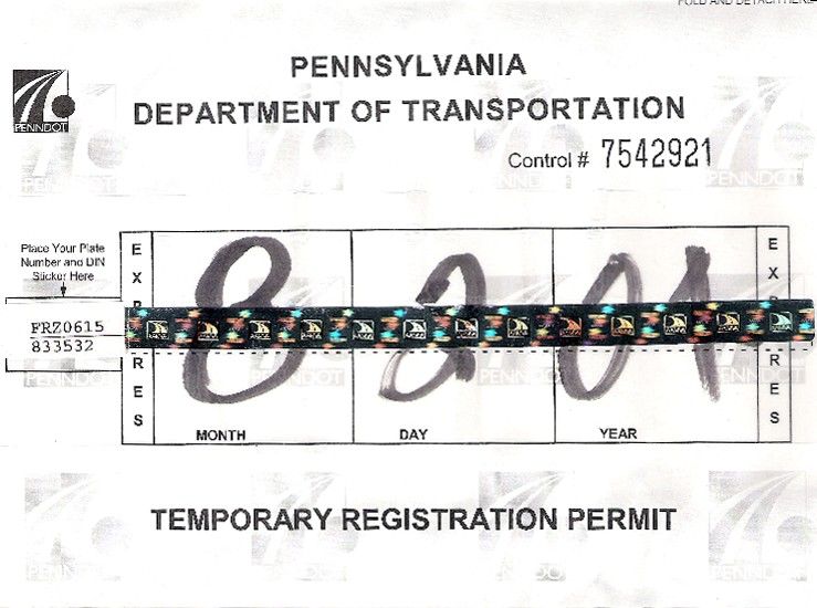 Pa Motor Vehicle Registration Renewal Online
