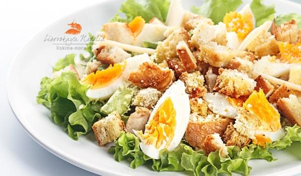 Prato de salada natalina