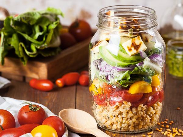 Salada no Pote PapoGula