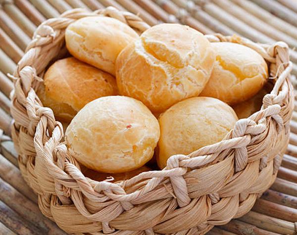 receita pao de queijo fit papo gula