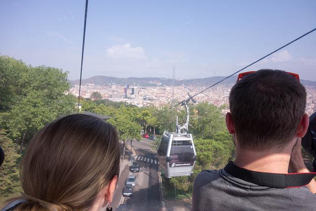 Foto: Kent Wang- Teleférico Montjuic