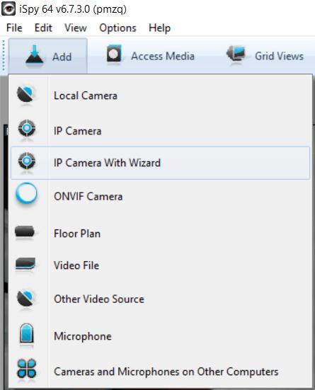 add webcam to server