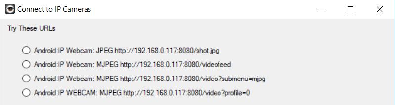 video stream url
