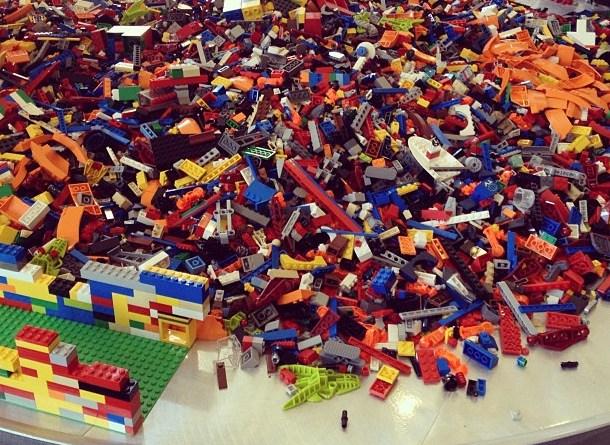 Lego ordenen
