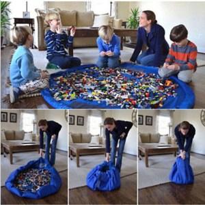 Opberg tas lego speelgoed