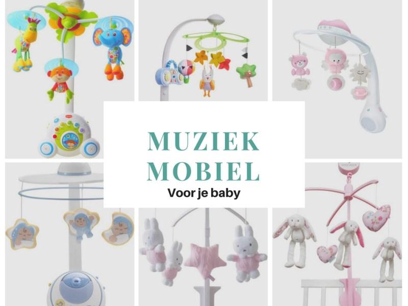 Boxmobiel voor baby - muziekmobiel