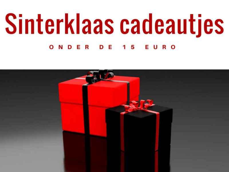 Sinterklaas cadeautjes onder 15 euro
