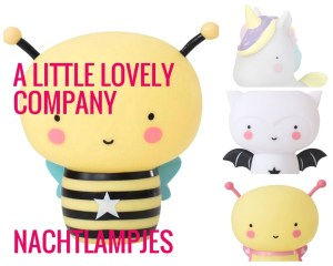 A Litle Lovely Company baby nachtlampjes