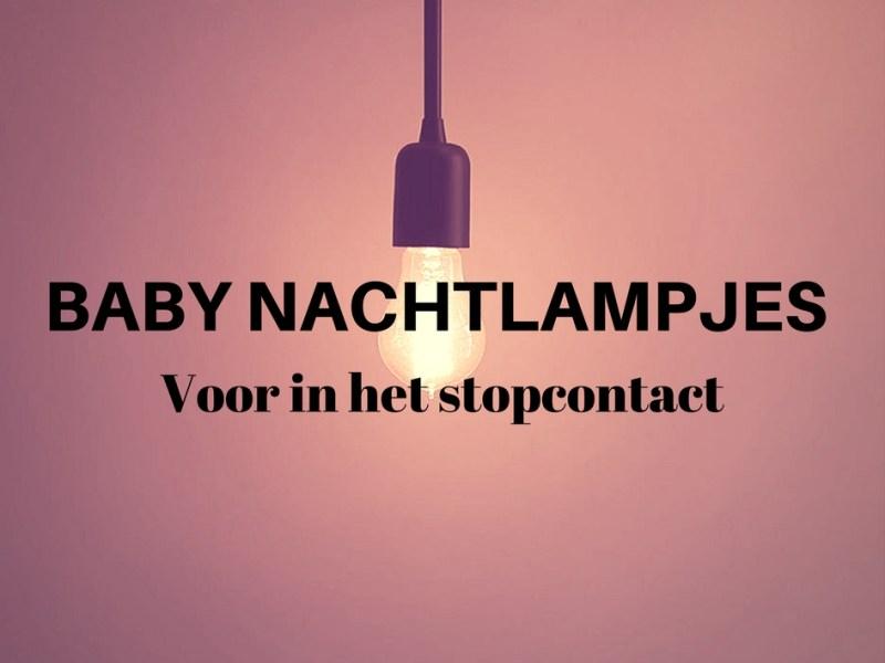 Nachtlampje baby stopcontact logo