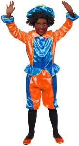 pietenpakje blauw en oranje