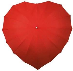 valentijnscadeau paraplu