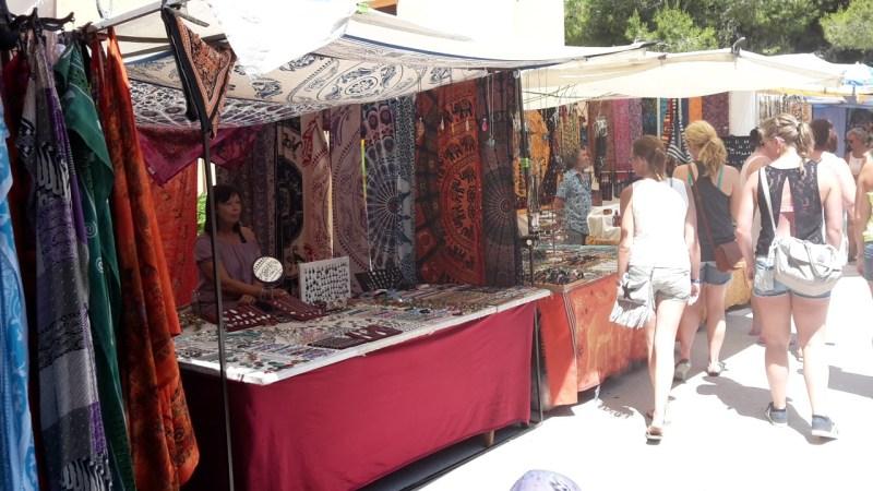 Ibiza hippie markt