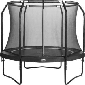 Salta premium black trampoline met net