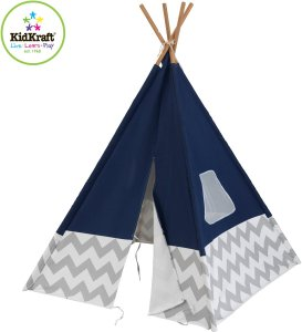 KidKraft Tipi Deluxe marineblauw - Tipi tent