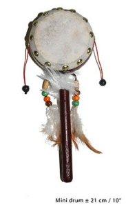 trommel-indiaan-21cm