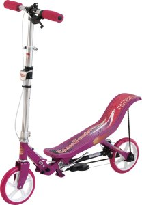Space scooter roze