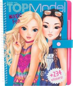 Topmodel meisjes kleurboek