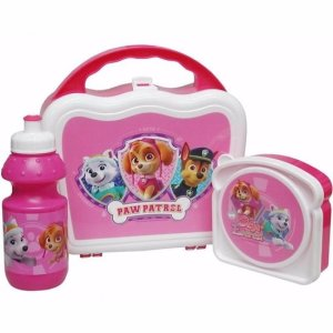 paw patrol lunchset roze