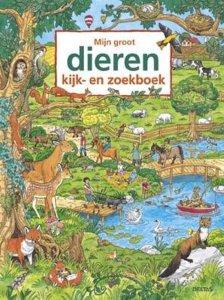 Dieren kijk en zoek boek