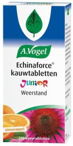 AVogel Echinaforce Junior - 200 Kauwtabletten - Voedingssupplement
