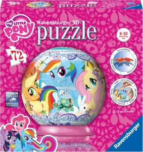 My Little pony 3D puzzel